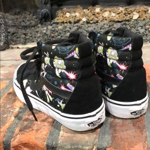 245239b5f2767c Vans Shoes - Vans high Top Toy Story Buzz Lightyear women sz 6